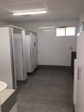 Bowls Club Toilet Refurbishment
